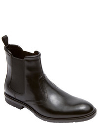 83a751204fed Rockport City Smart Chelsea Boot Black Leather Boots