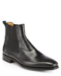 Saks Fifth Avenue Collection By Magnanni Leather Chelsea Boots