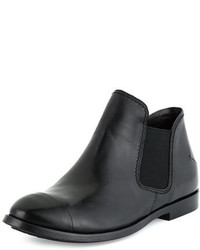 CNC Costume National Costume National Leather Chelsea Boot Black