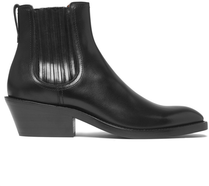 Givenchy Cuban Heel Leather Chelsea Boots | Where to buy & how to wear