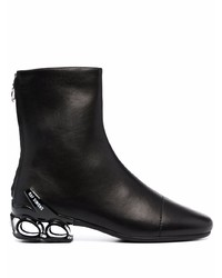 Raf Simons Cycloid 4 2001 Leather Ankle Boots