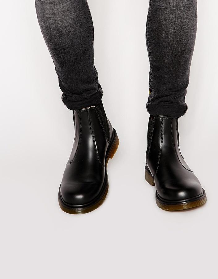 a1c174eba98 ... Black Leather Chelsea Boots Dr. Martens Dr Martens 2976 Chelsea Boots  ...