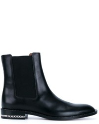 Givenchy Chain Trim Chelsea Boots