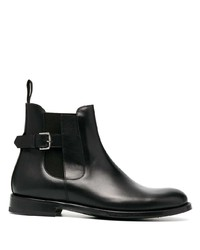 Etro Leather Ankle Boots
