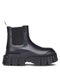 Fendi Leather Ankle Boots