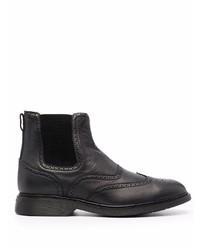 Hogan Leather Chelsea Boots