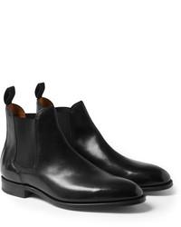 John Lobb Leather Chelsea Boots