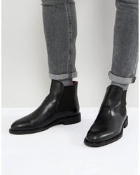 Selected Homme Leather Chelsea Boots