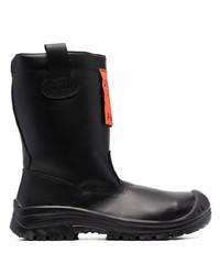 Diesel Logo Patch Boots