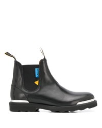 Lanvin Logo Tag Chelsea Boots