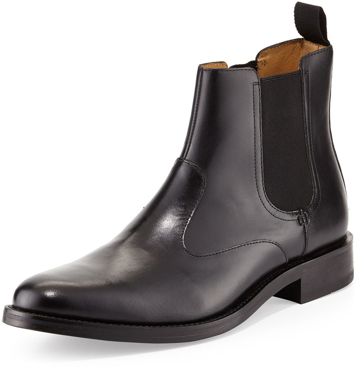 4ee85db4a45 $199, Cole Haan Madison Chelsea Ii Leather Boot Black