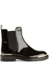 Marni Metal Trim Chelsea Boots