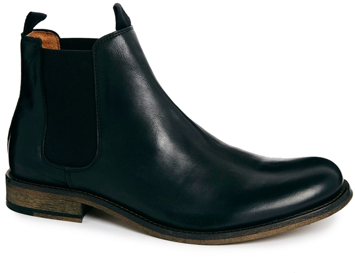 black leather chelsea boots selected homme melvin chelsea boots black where to buy how to wear. Black Bedroom Furniture Sets. Home Design Ideas