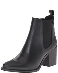 e8201a14536 Women's Black Leather Chelsea Boots by Steve Madden | Women's ...