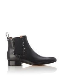 Givenchy Studded Chelsea Boots Colorless