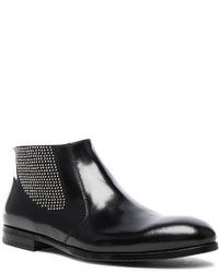 Alexander McQueen Studded Chelsea Leather Boots