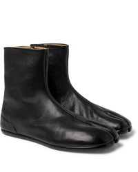 Maison Margiela Tabi Split Toe Leather Boots