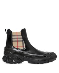 Burberry Vintage Check Coated Chelsea Boots