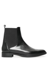 Violeta BY MANGO Leather Chelsea Ankle Boots