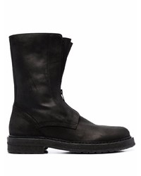 Ann Demeulemeester Willy A Zip Front Mid Calf Boots