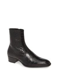Saint Laurent Wyatt Zip Boot