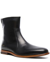 Robert Geller X Common Projects Leather Chelsea Boots