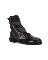 Guidi Zip Up Fitted Boots