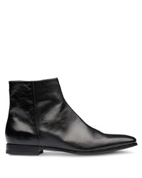 Prada Zipped Ankle Boots