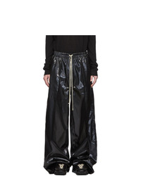 Rick Owens Black Jumbo Bela Trousers