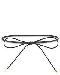 Elizabeth and James Fiona Leather Wrap Choker