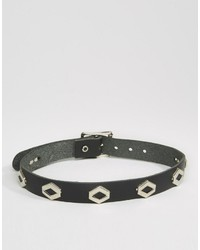 Reclaimed Vintage Western Leather Choker