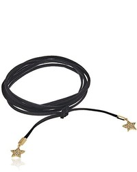 Rebecca Minkoff Star Leather Wrap Bracelet Or Choker