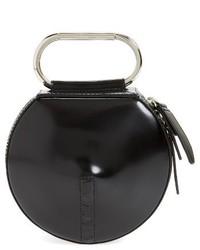 3.1 Phillip Lim Alix Leather Circle Clutch Black