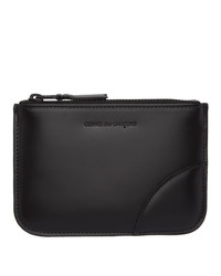 Comme des Garcons Wallets Black Leather Pouch