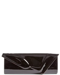 Christian Louboutin So Kate Patent Leather Clutch Black