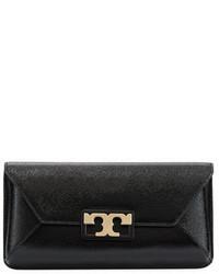 Tory Burch Gigi Leather Clutch Bag