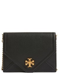 Kira leather envelope clutch black medium 3683588