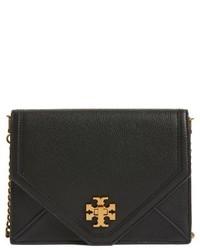 Kira leather envelope clutch purple medium 3683588