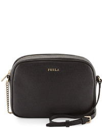 ... Furla Miky Leather Crossbody Pouch Black 8efc994ca7498