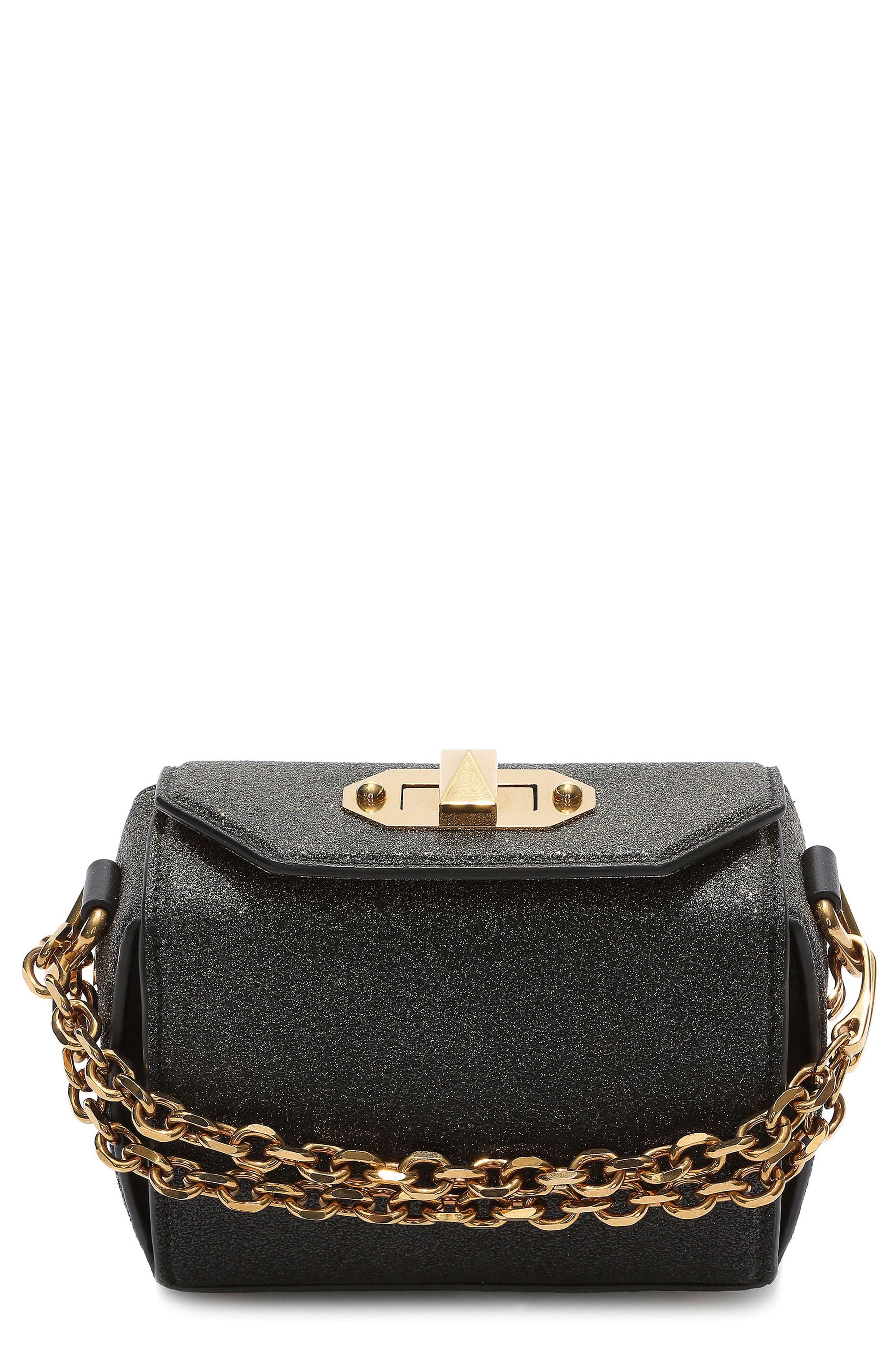 Alexander McQueen Mini Leather Box Bag