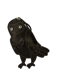 Oscar de la Renta Owl Clutch Bag