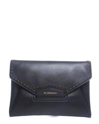 Givenchy Pre Owned Antigona Studs Couture Clutch Bag