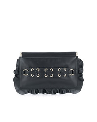 e246745f85 Women's Black Leather Clutches by RED Valentino | Women's Fashion ...