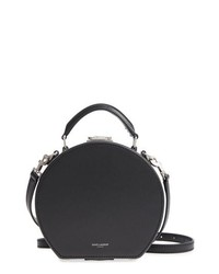Saint Laurent Small Mica Leather Hat Box