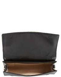 Louise et Cie Yvet Leather Flap Clutch