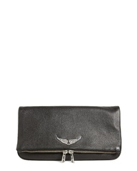 Zadig & Voltaire Zagid Voltaire Rock Leather Clutch