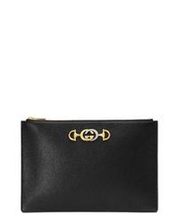 Gucci Zumi 815 Leather Pouch