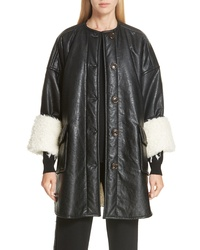 See by Chloe Faux Faux Leather Jacket