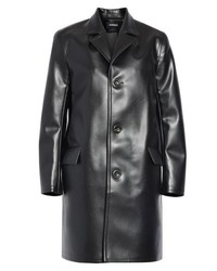 Kwaidan Editions Faux Leather Car Coat