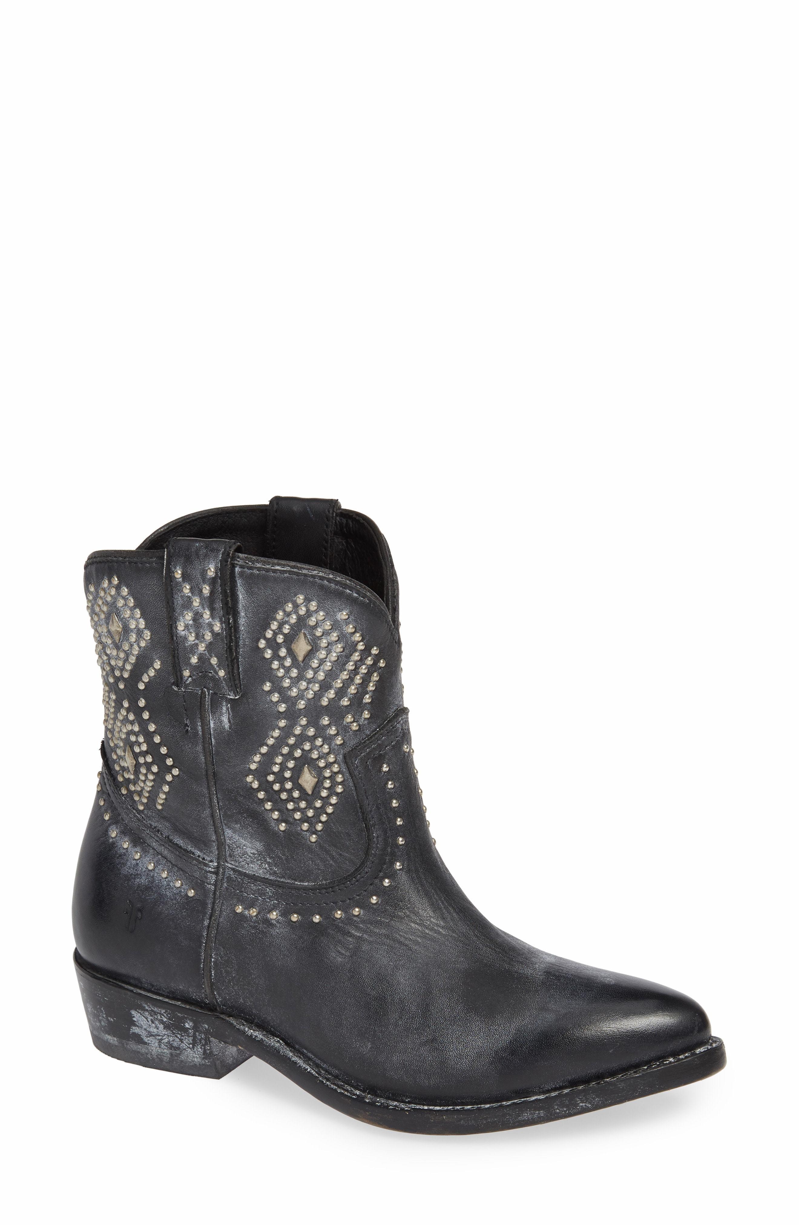 763ea7034ad Billy Stud Short Western Boot